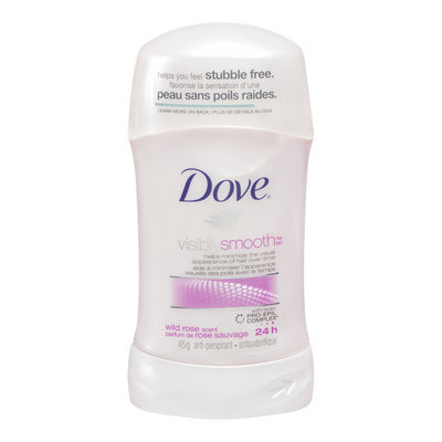 Dove Visibly Smooth Antiperspirant, Wild Rose