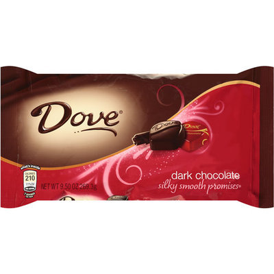 Dove Dark Chocolate Almond Candy Packages