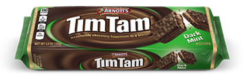 Arnott's Tim Tam® Biscuits Dark Mint