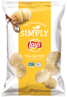 LAY'S® Simply Sea Salted Thick Cut Potato Chips