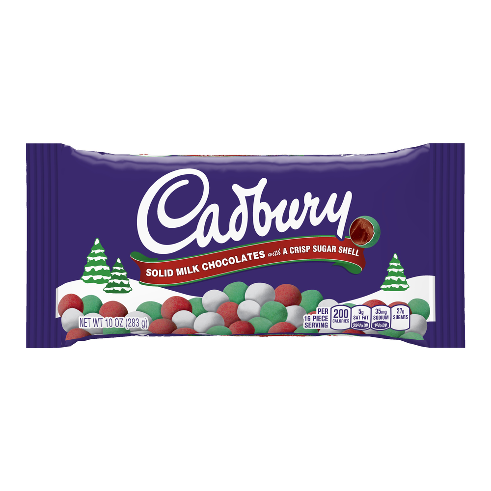 Cadbury Solid Milk Chocolate Snowballs