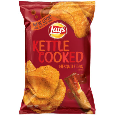LAY'S® Kettle Cooked Mesquite BBQ Flavored Potato Chips