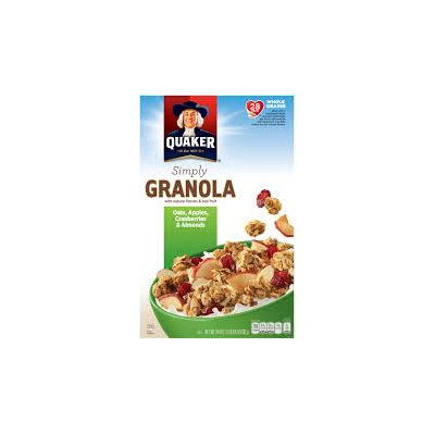 Quaker® Simply Granola Oats, Apple, Cranberry & Almonds