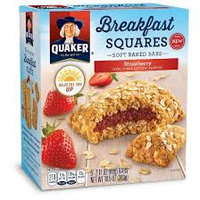 Quaker® Breakfast Squares Strawberry