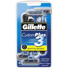 Gillette CustomPlus® Soothing Men's Disposable Razor