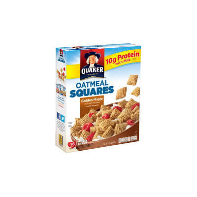 Quaker® Oatmeal Squares Golden Maple