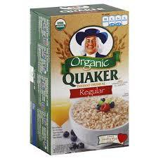 Quaker® Organic Regular Instant Oatmeal