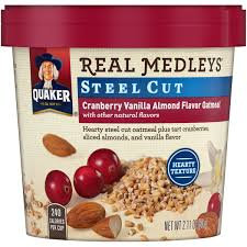 Quaker® Real Medleys Steel Cut Oatmeal