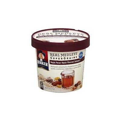 Quaker® Real Medleys Supergrains Oatmeal Maple Pecan Raisin