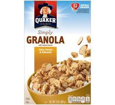 Quaker® Simply Granola Oats, Honey & Almonds