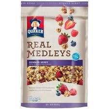 Quaker® Real Medleys Granola Summer Berry