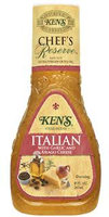 Ken's Chef's Reserve Italian With Garlic & Asiago Cheese