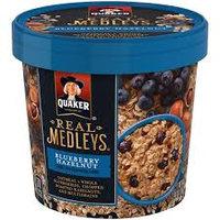 Quaker® Real Medleys Oatmeal+ Blueberry Hazelnut