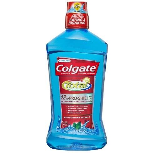 Colgate Total® ADVANCED PRO-SHIELD PEPPERMINT BLAST MOUTHWASH