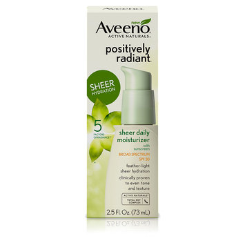 Aveeno Active Naturals Positively Radiant Sheer Hydration SPF 30