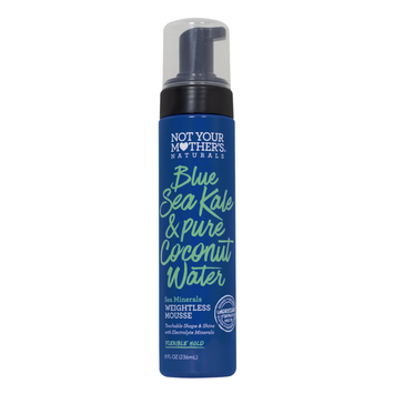 Not Your Mother's® Naturals Blue Sea Kale & Pure Coconut Water Sea Minerals Weightless Mousse