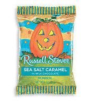 Russell Stover Pumpkin Sea Salt Caramel In Milk Chocolate