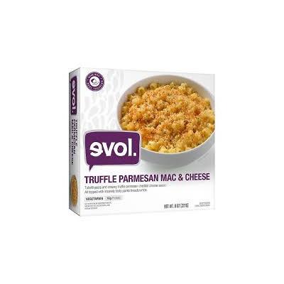 Evol Truffle Parmesan Macaroni and Cheese Bowl