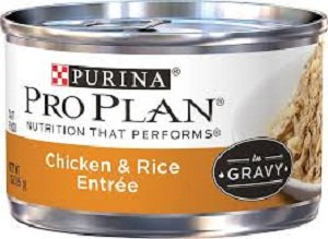 PRO PLAN® SAVOR® ADULT Chicken & Rice Entree In Gravy