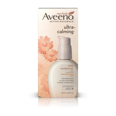 Aveeno® Ultra-calming® Daily Moisturizer Broad Spectrum SPF 15