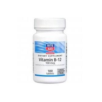 RITE AID® Natural Vitamin B-12 Tablets