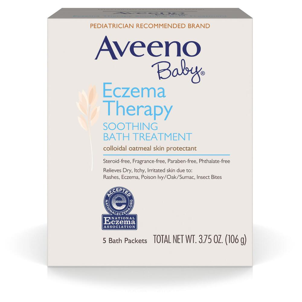 Aveeno® Baby Eczema Therapy Soothing Bath Treatment