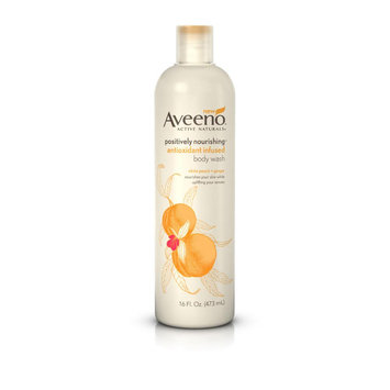 Aveeno® Positively Nourishing® Antioxidant Infused Body Wash With White Peach and Ginger