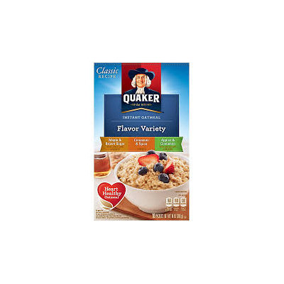 Quaker® Instant Oatmeal Flavor Variety Pack