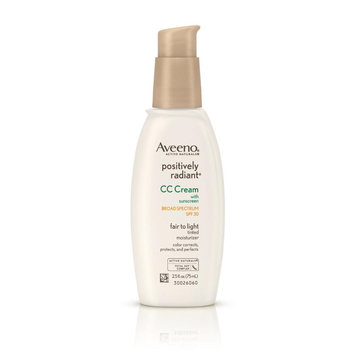 Aveeno® Positively Radiant® CC Cream Broad Spectrum SPF 30