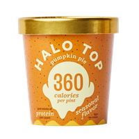 Halo Top Pumpkin Pie Ice Cream - Seasonal Flavor