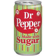 Dr Pepper® Made with Sugar
