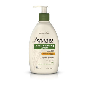 Aveeno® Daily Moisturizing Lotion With Broad Spectrum SPF 15