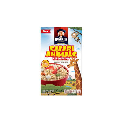Quaker® Instant Oatmeal Adventure Animals
