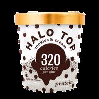 HALO TOP Cookies & Cream Ice Cream