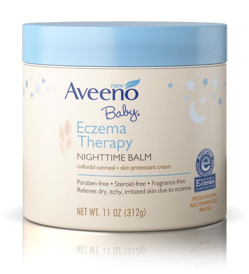 AVEENO® Baby® Eczema Therapy Nighttime Balm