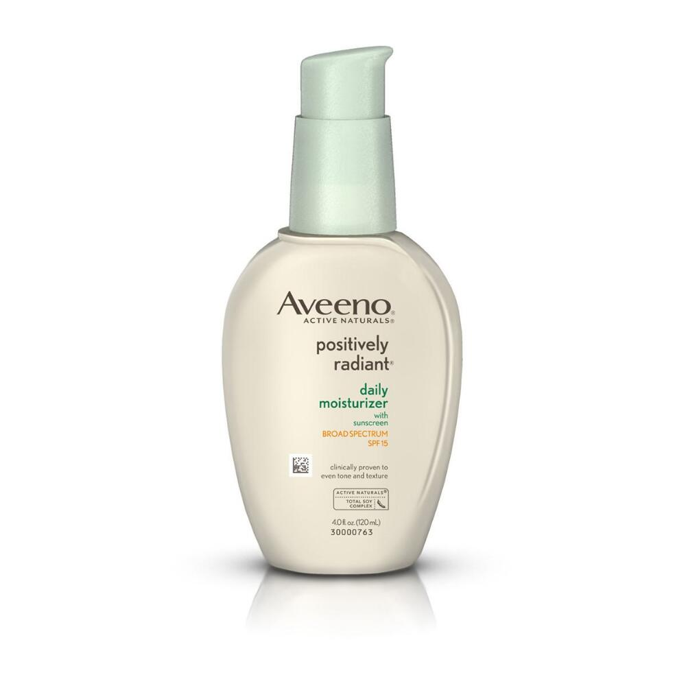 Aveeno® Positively Radiant Daily Moisturizer SPF 15