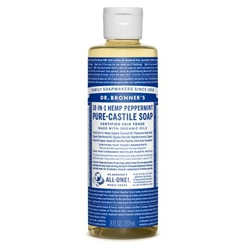 Dr. Bronner's Peppermint Pure-Castile Liquid Soap
