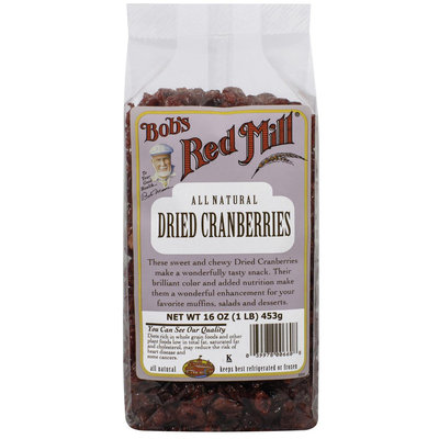 Bob's Red Mill All Natural Dried Cranberries