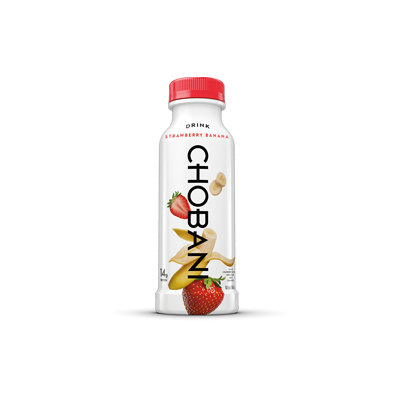 Chobani® Strawberry Banana Low-Fat Greek Yogurt Drink