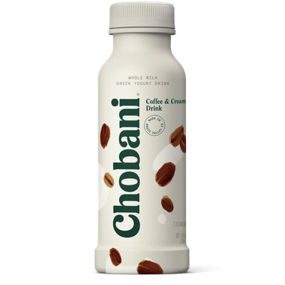 Chobani® Coffee & Cream Whole Milk Greek Yogurt Drink