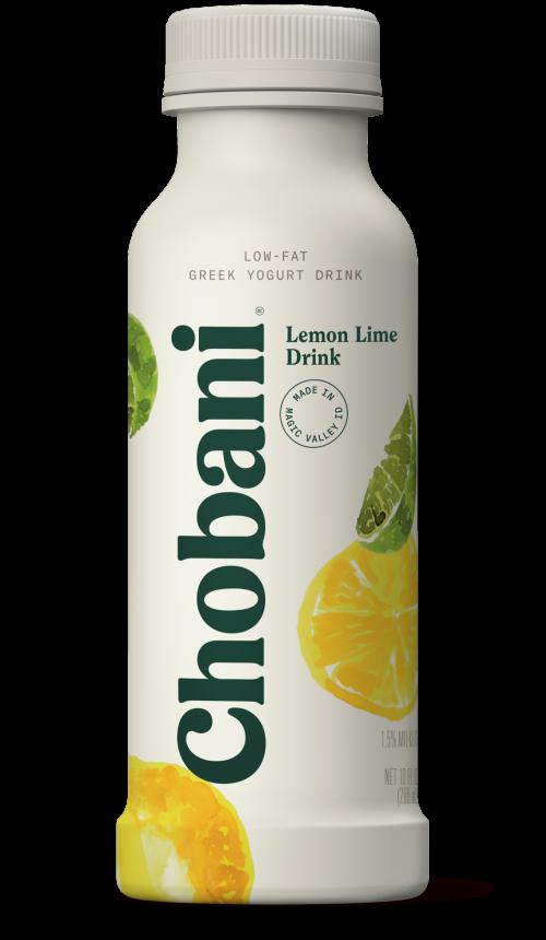 Chobani® Low-Fat Lemon Lime Greek Yogurt Drink