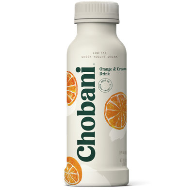 Chobani® Low-Fat Orange & Cream Greek Yogurt Drink