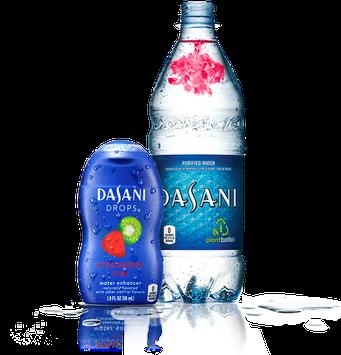 Dasani Drops® Flavor Enhancer Liquid Strawberry Kiwi