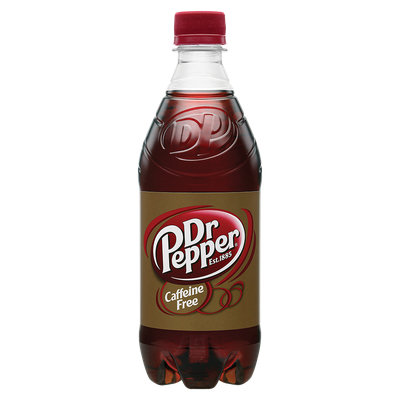 Dr Pepper® Caffeine Free Soda
