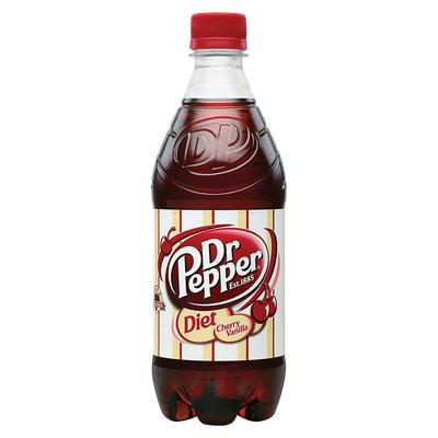 Dr Pepper® Diet Cherry Vanilla Soda