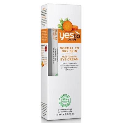 Yes To Carrots Normal To Dry Skin Moisturising Eye Cream