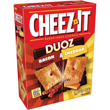 Cheez-it® Duoz Bacon & Cheddar