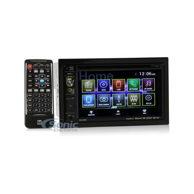 Dual Dv625bh 6.2 Double-din In-dash Dvd Receiver With Built-in Bluetooth[r] & Hdmi[r] Input