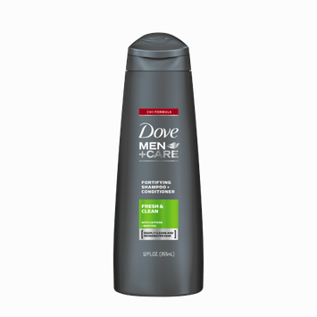 Dove Men+Care Fresh & Clean Fortifying 2-In-1 Shampoo + Conditioner