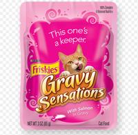 Friskies® Gravy Sensations With Salmon In Gravy Cat Food